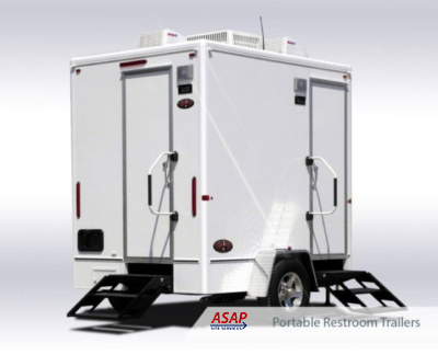 Portable Restroom Trailers Product Guide | Portable Restroom Trailers from ASAP Site Services Waste